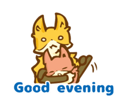 The story of Fox 1-5 (greetings) [Eng] sticker #8256617