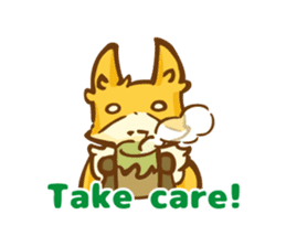 The story of Fox 1-5 (greetings) [Eng] sticker #8256622