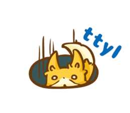 The story of Fox 1-5 (greetings) [Eng] sticker #8256627