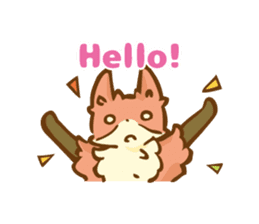 The story of Fox 1-5 (greetings) [Eng] sticker #8256628