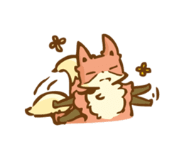 The story of Fox 1-5 (greetings) [Eng] sticker #8256630