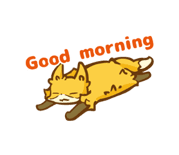 The story of Fox 1-5 (greetings) [Eng] sticker #8256632