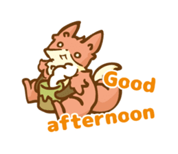The story of Fox 1-5 (greetings) [Eng] sticker #8256633