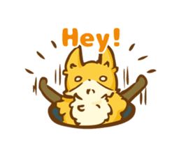 The story of Fox 1-5 (greetings) [Eng] sticker #8256636