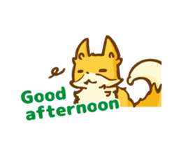 The story of Fox 1-5 (greetings) [Eng] sticker #8256638