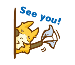 The story of Fox 1-5 (greetings) [Eng] sticker #8256642