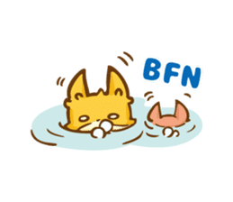 The story of Fox 1-5 (greetings) [Eng] sticker #8256643