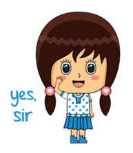 Fifi The Calm Girl 2 sticker #8261208