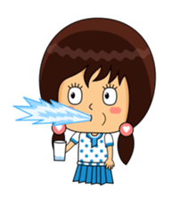Fifi The Calm Girl 2 sticker #8261216