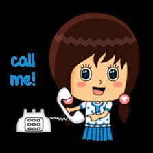 Fifi The Calm Girl 2 sticker #8261219