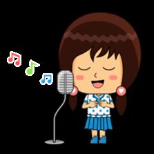 Fifi The Calm Girl 2 sticker #8261221