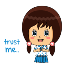 Fifi The Calm Girl 2 sticker #8261226