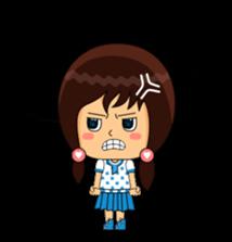 Fifi The Calm Girl 2 sticker #8261229