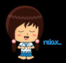 Fifi The Calm Girl 2 sticker #8261235