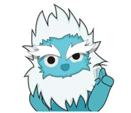 Yeti On The Way sticker #8262845