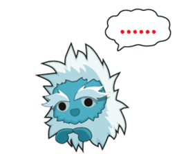 Yeti On The Way sticker #8262846