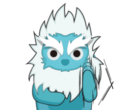 Yeti On The Way sticker #8262848