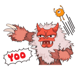 Yeti On The Way sticker #8262852