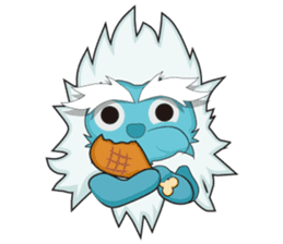 Yeti On The Way sticker #8262857