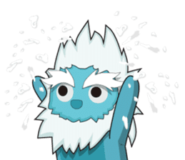 Yeti On The Way sticker #8262861