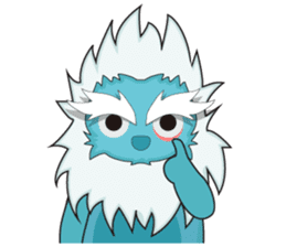 Yeti On The Way sticker #8262864