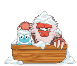 Yeti On The Way sticker #8262866