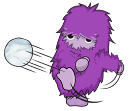 Yeti On The Way sticker #8262869