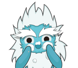 Yeti On The Way sticker #8262872