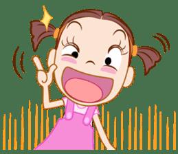 Jumbooka  22nd century girl sticker #8269888