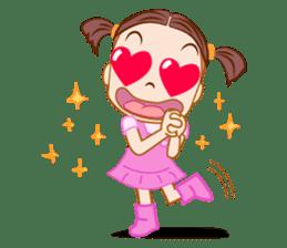 Jumbooka  22nd century girl sticker #8269890