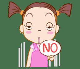 Jumbooka  22nd century girl sticker #8269892