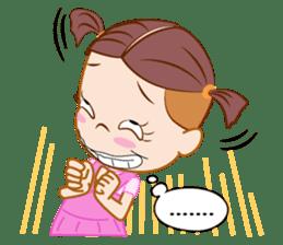 Jumbooka  22nd century girl sticker #8269903