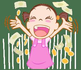 Jumbooka  22nd century girl sticker #8269915