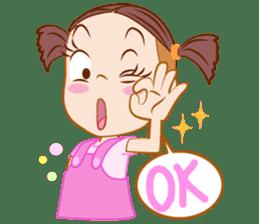 Jumbooka  22nd century girl sticker #8269916