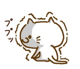 Cheeky sweety cat sticker #8285471