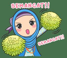 Flower Hijab : Daily Talk sticker #8286529