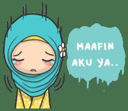 Flower Hijab : Daily Talk sticker #8286538