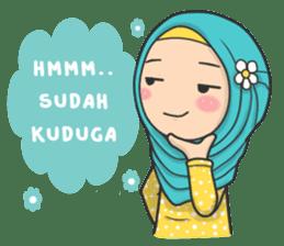 Flower Hijab : Daily Talk sticker #8286539
