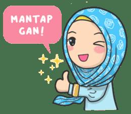 flower hijab daily talk by imran ramadhan sticker 8286542 flower hijab daily talk by imran