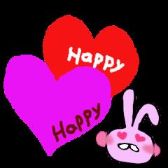 Pink rabbit<TOY> English version