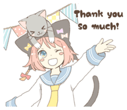 Cat ear girl Necoco part 4 sticker #8290799