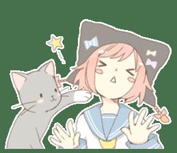 Cat ear girl Necoco part 4 sticker #8290815
