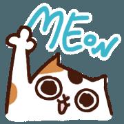 สติ๊กเกอร์ไลน์ Meow Meow MEME!
