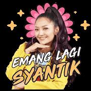 สติ๊กเกอร์ไลน์ Siti Badriah: Lagi Syantik