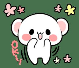 cute Bear to shout love Life. sticker #8298478