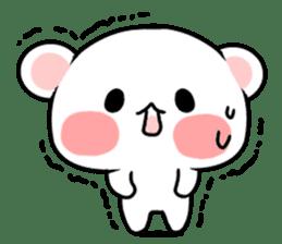 cute Bear to shout love Life. sticker #8298479