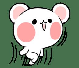 cute Bear to shout love Life. sticker #8298480