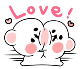 cute Bear to shout love Life. sticker #8298482
