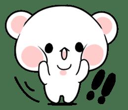 cute Bear to shout love Life. sticker #8298484