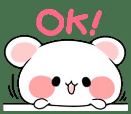 cute Bear to shout love Life. sticker #8298485